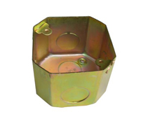 Iron octagonal type junction box